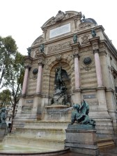 Fountain at Saint-Michel
